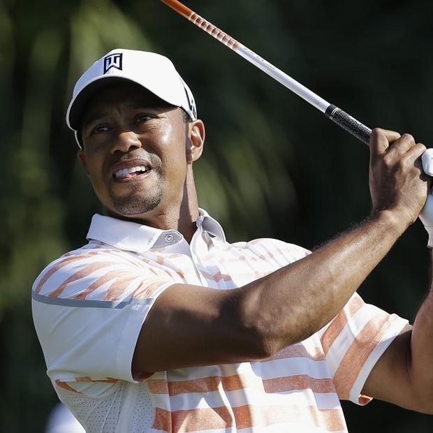Tiger Woods was in excellent form in Miami (AP)