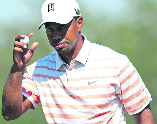 Tiger Woods could regain his No 1 spot this week