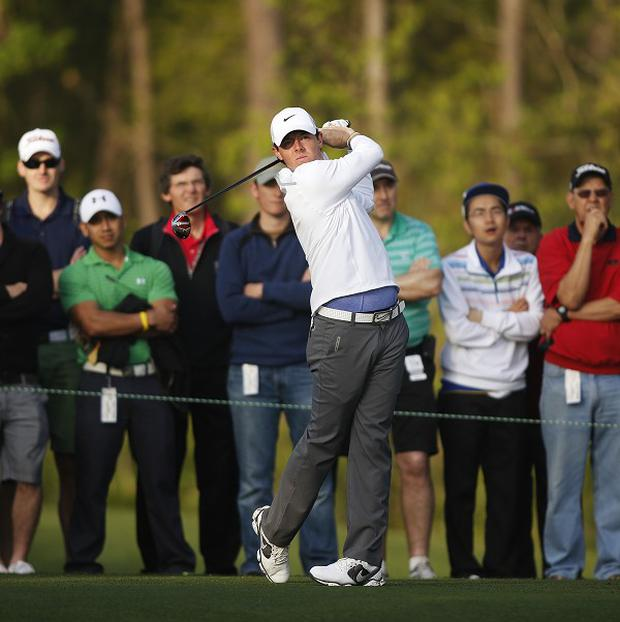 Rory Mcllroy's late birdies helped him beat the cut at the Houston Open (AP)