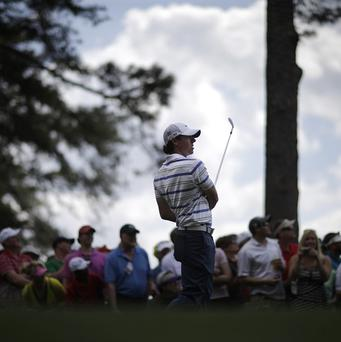 Rory McIlroy carded a 66 in his last competitive round before the Masters (AP)