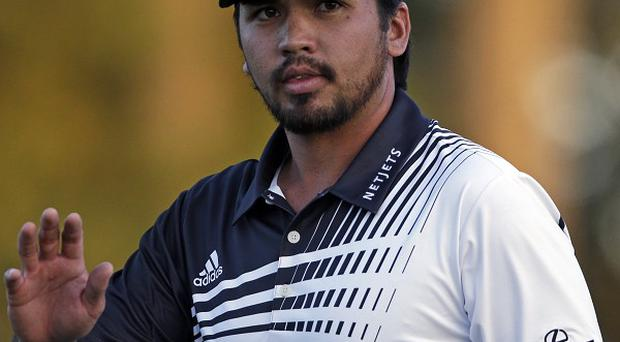 Jason Day carded 68 to take a one-shot lead into day three at the Masters (AP)