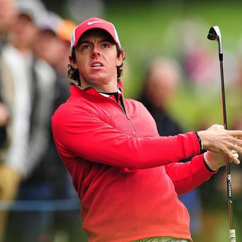 Rory McIlroy is looking to rediscover his best form