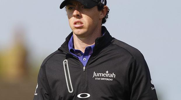 Rory McIlroy goes into the Open on a run of disappointing form