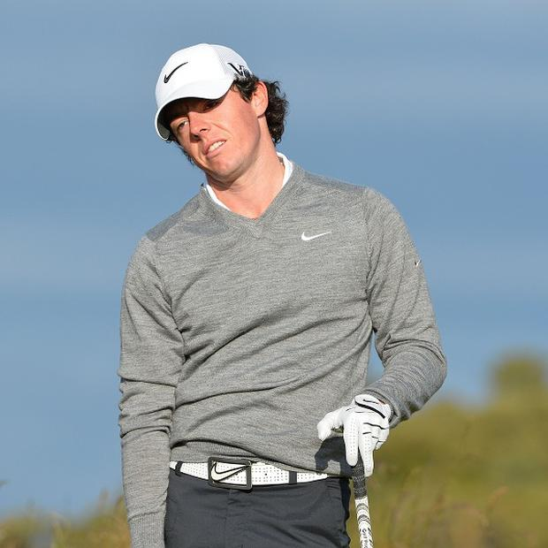 Rory McIlroy, pictured, should focus on golf and nothing else, according to Sir Nick Faldo