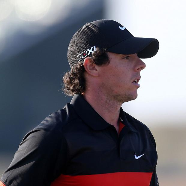 Rory McIlroy's second-round score of 75 was not enough to make the cut