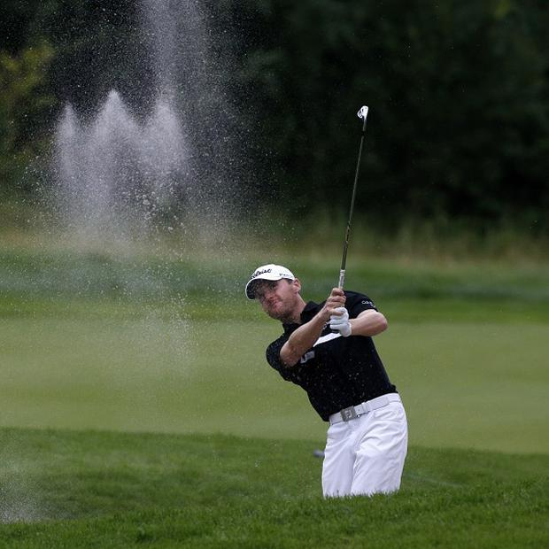 Michael Hoey dropped just one shot during his final round (AP)