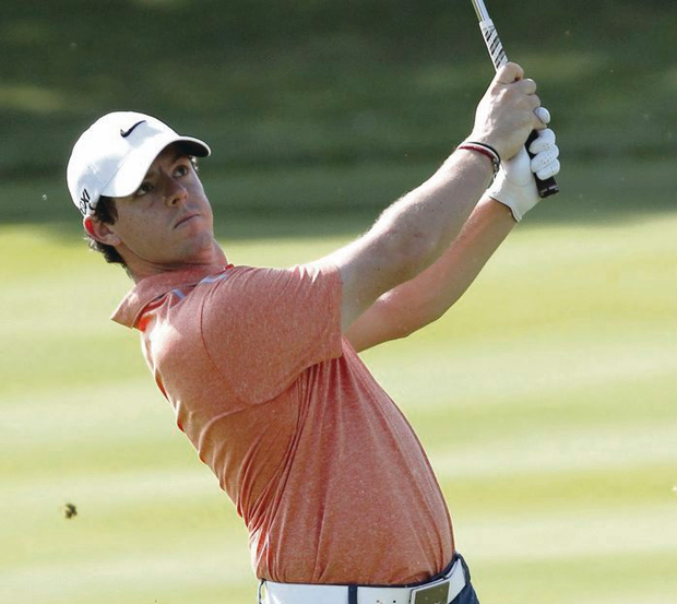 Nitty gritty: Rory McIlroy is battling to keep his season alive