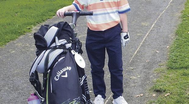 Adam Buchanan: the most improved golfer in UK