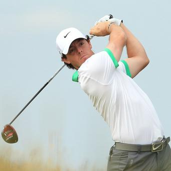 Rory McIlroy made an excellent start to his first round in the WGC-HSBC Champions event in Shanghai on Thursday.