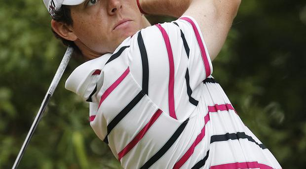 Rory McIlroy signed for a level-par 72 after the second round in Shanghai (AP)