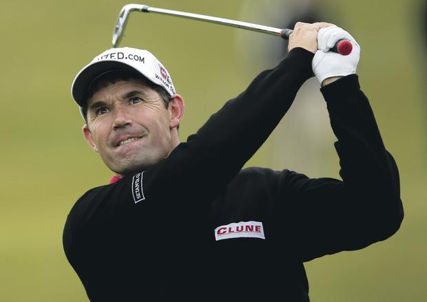Former glory: Padraig Harrington hasn't lived up to the highs of 2008 when he was in the world's top three