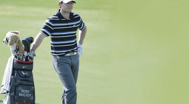 On the right road: Rory McIlroy feels he will soon be on the winning trail again after a tough period