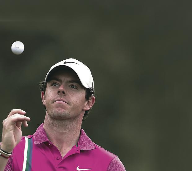 Off target: Rory McIlroy has had a difficult year both on and off the course