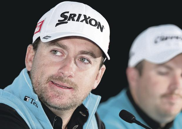 Looking ahead: Graeme McDowell at Royal Melbourne