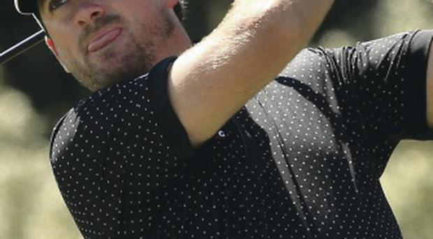 Inconsistent: Graeme McDowell failed to sparkle in Melbourne