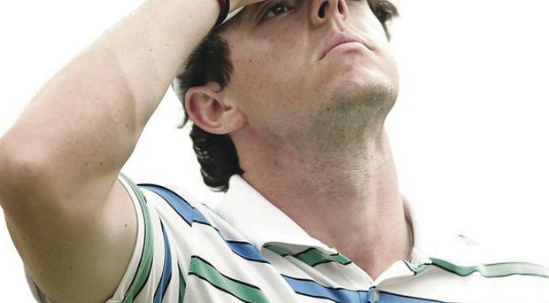 Rory McIlroy has talked about stress