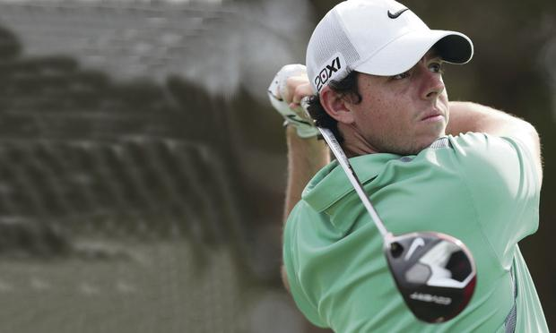 Rory McIlroy's driving has been good at the Australian Open at Royal Sydney