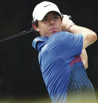 SYDNEY, AUSTRALIA - DECEMBER 01: Rory McIlroy of Northern Ireland tees off on the 4th hole during day four of the 2013 Australian Open at Royal Sydney Golf Club on December 1, 2013 in Sydney, Australia. (Photo by Matt King/Getty Images)