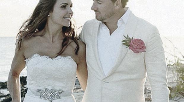 Graeme McDowell and Kristin Stape wedding