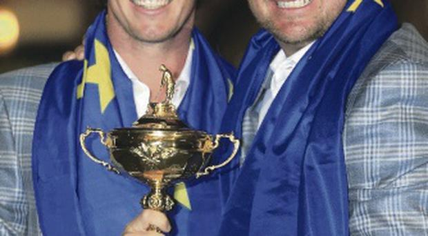 Ryder Cup heroes: Graeme McDowell and Rory McIlroy