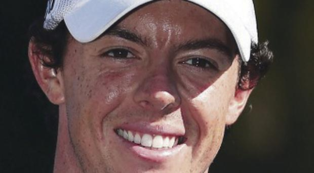 Rory McIlroy agreed the deal with Nike in 2012