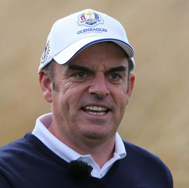 A year on from his appointment as Ryder Cup captain, Paul McGinley found himself one shot off the lead after the first round of the Abu Dhabi HSBC Championship.
