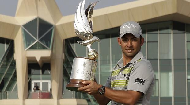 Pablo Larrazabal carded a final round of 67 to finish 14 under par in Abu Dhabi (AP)