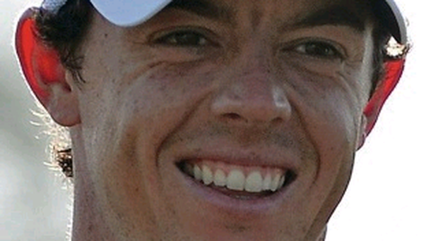 Rory McIlroy won his first event as a pro in Dubai