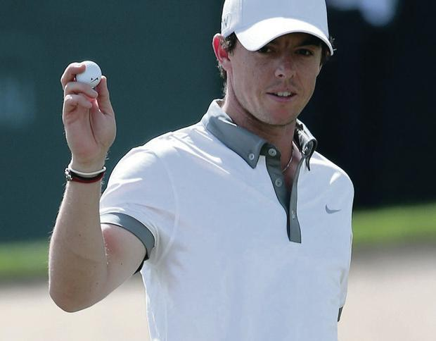 Rory McIlroy made a fantastic start in Dubai