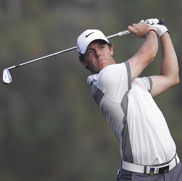 Rory McIlroy claimed a one-shot lead after the second round of the Omega Dubai Desert Classic (AP)