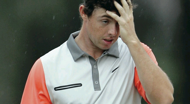 Rory McIlroy searches for an explanation for his poor final round in Dubai