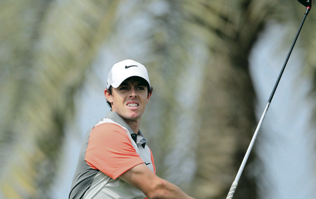 Rory McIlroy showed flashes of his old brilliance during the Desert Classic, but faded at the crucial moment