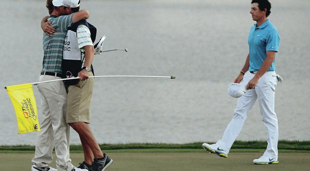 Rory McIlroy has much to ponder after his play off defeat by Russell Henley in Honda Classic