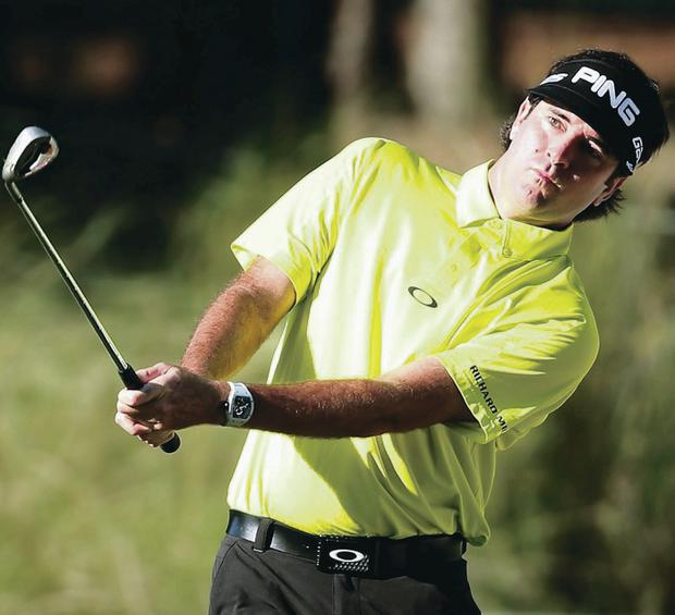 Back in the swing: Bubba Watson will play in his first tournament since winning the Masters at Augusta last month