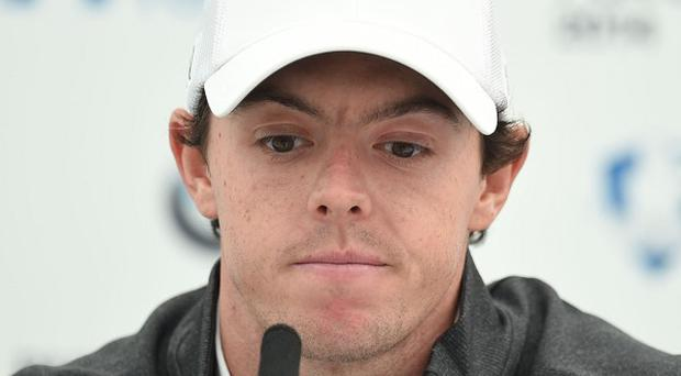 Rory Mcllroy wants to focus on golf amid the break-up of his relationship with Caroline Wozniacki