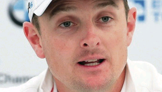 So close: Justin Rose lost in a play-off at Wentworth in 2007