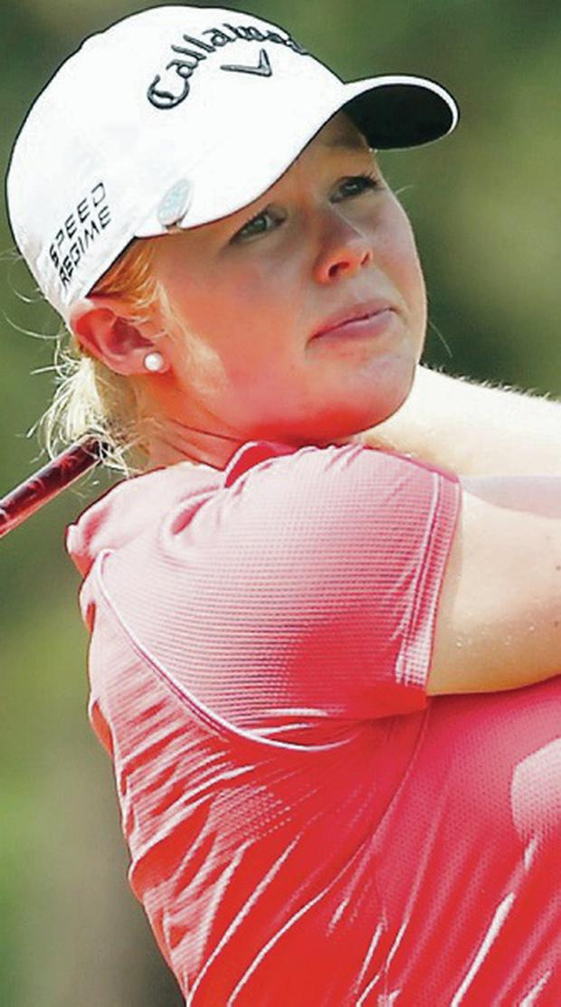 Dream debut: Stephanie Meadow shone at Pinehurst