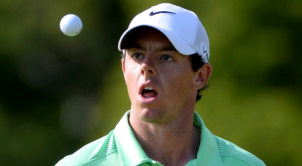 Chilled: Rory McIlroy tuned up for the Scottish Open at Royal Aberdeen with a trip to Ibiza