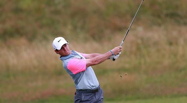 Rory McIlroy's lead at the top of the leaderboard has been cut