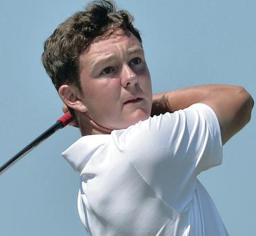 Open challenge: John-Ross Galbraith is one of four Ulster amateurs chosen to take part in the Northern Ireland Open at Galgorm