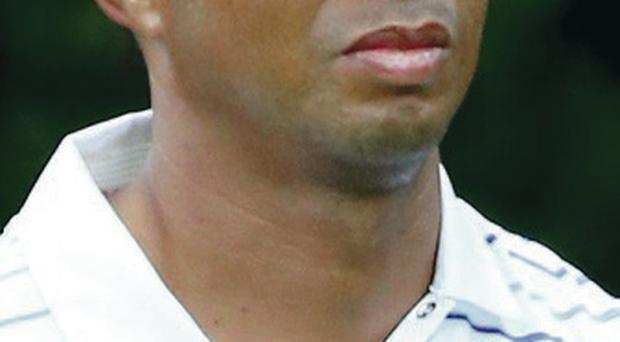 Injury blow: Tiger Woods has been ruled out by back injury