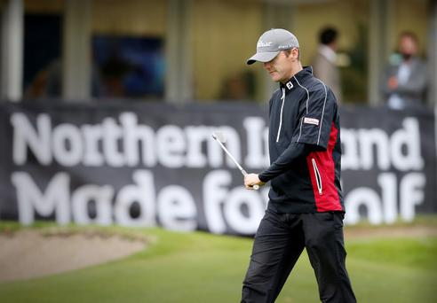 All over: Michael Hoey reflects on missing the cut at the Northern Ireland Open for the second successive year