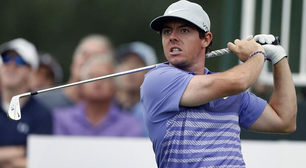 Rory McIlroy shot a 67 at Cherry Hills Village (AP)
