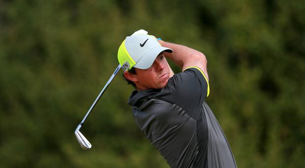 Rory McIlroy was chasing more success in Atlanta