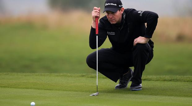 Stephen Gallacher made an early exit in Wales