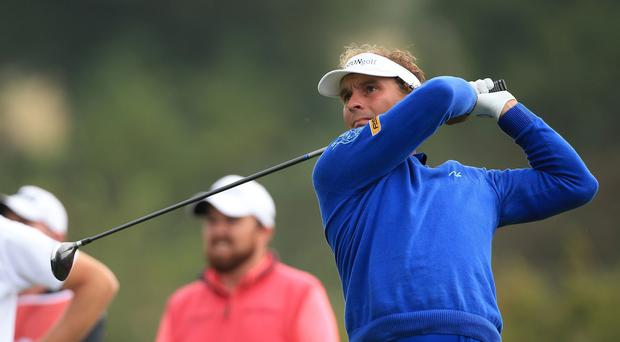 Joost Luiten claimed a two-shot lead at Celtic Manor
