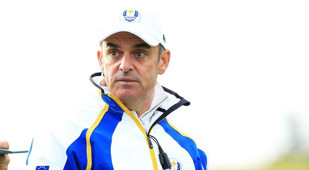 Europe captain Paul McGinley, pictured, wants his players to remember Sir Alex Ferguson's advice
