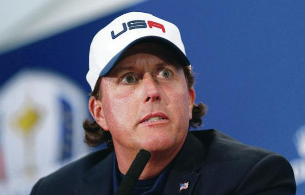 Phil Mickelson will attempt to win the one major title to so far elude him at Chambers Bay