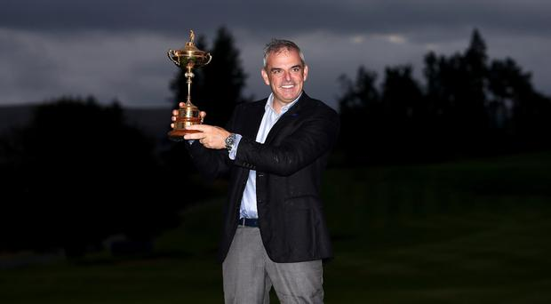 Paul McGinley will have a say in naming his successor