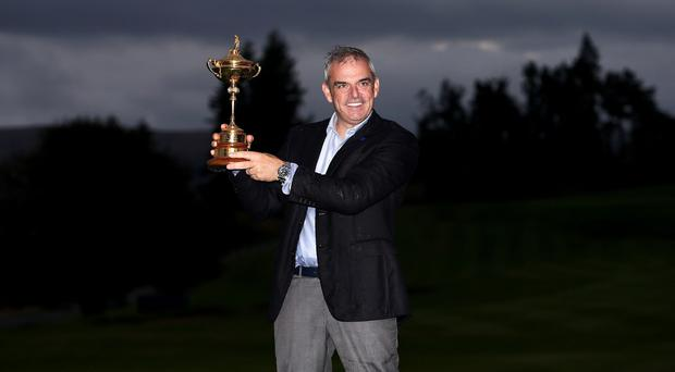 Paul McGinley will be back in action in the Dunhill Links